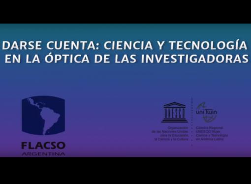 Nueva producción audiovisual sobre Género, Ciencia y Tecnología