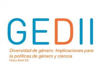 Nuevo informe sobre políticas en género y ciencia